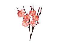 Цветы вишни из ткани - Розовые, 1 шт