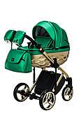 Дитяча коляска 2 в 1 Adamex Chantal Star  Polar Gold 120 Ecco, фото 1