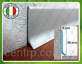 Алюминиевый плинтус для пола Profilpas Metal Line 90/6 высота 60 мм