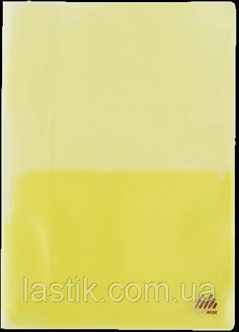 Папка-обложка для каталогов, А4, прозрачная, цветная, ассорти