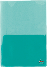 Папка-обложка для каталогов, А4, прозрачная, цветная, ассорти, фото 2