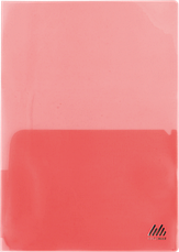 Папка-обложка для каталогов, А4, прозрачная, цветная, ассорти, фото 3