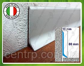 Алюминиевый плинтус Profilpas Metal Line 90/8 для пола,  высота 80 мм