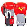 Перчатки боксерские кожаные на липучке ELS PRO STYLE ELITE  (р-р 10-12oz, цвета в ассортименте), фото 4