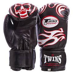 Перчатки боксерские DX на липучке TWN (р-р 10-12oz, цвета в ассортименте)