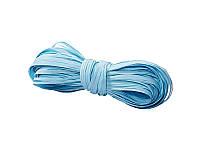 Рафия искусственная  одноцветная — Нежно-голубая, моток 5 метров
