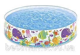 Дитячий Надувний Басейн Океан Intex 183 х 38 см