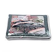 """Двуспальный комплект (Бязь)   Постельное белье от производителя """"Королева Ночи""""   Кактусы и фламинго на темном, фото 5"""