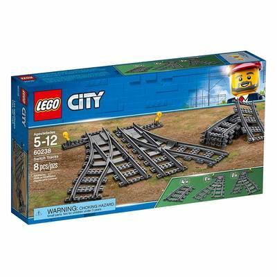 Конструктор LEGO City Железнодорожные стрелки (60238)