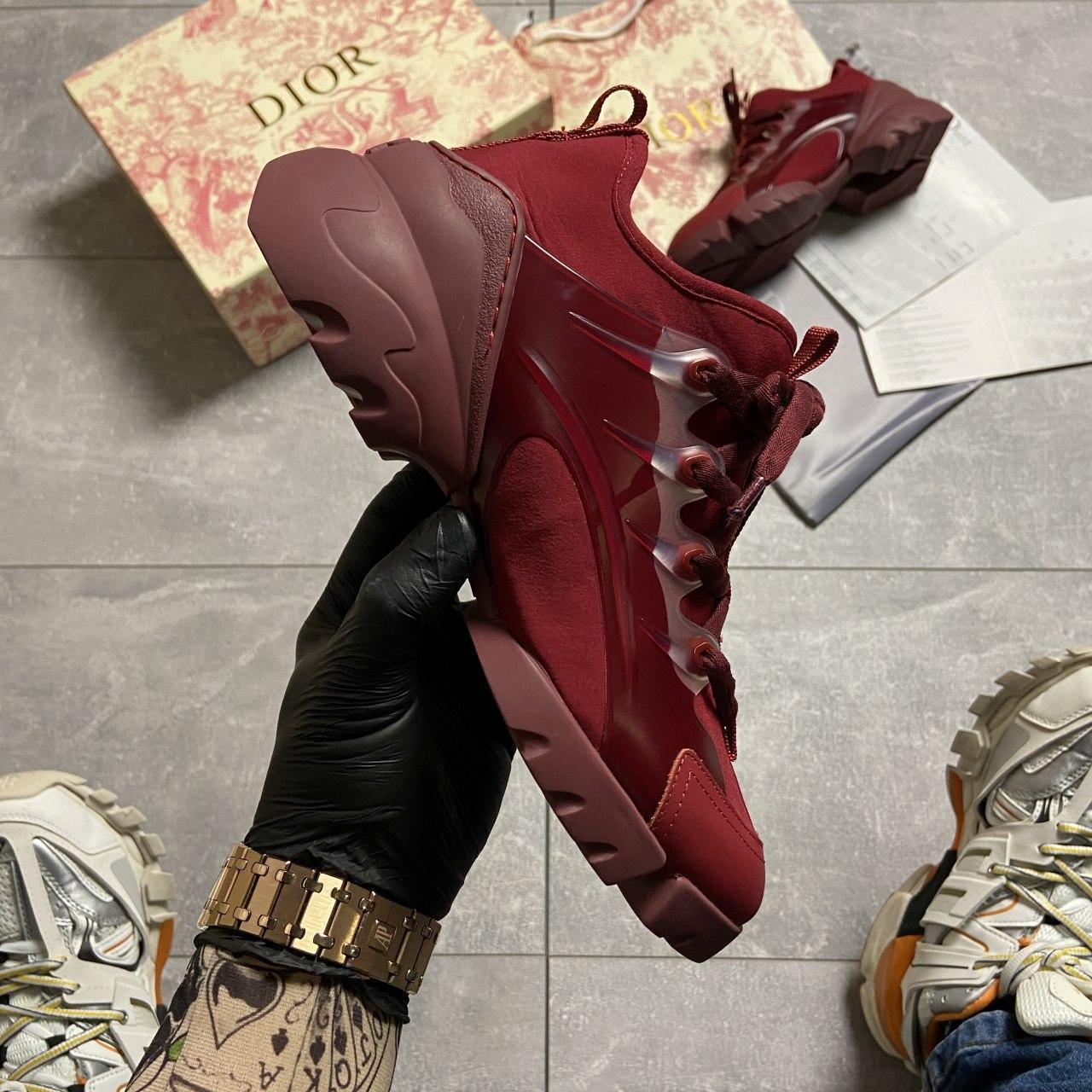 🔥 ВИДЕО ОБЗОР🔥 Christian Dior D-connect Диор Кристиан Д Коннект Красный 🔥 Диор женские кроссовки 🔥