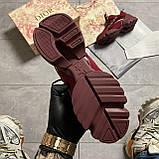 🔥 ВИДЕО ОБЗОР🔥 Christian Dior D-connect Диор Кристиан Д Коннект Красный 🔥 Диор женские кроссовки 🔥, фото 3