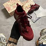 🔥 ВИДЕО ОБЗОР🔥 Christian Dior D-connect Диор Кристиан Д Коннект Красный 🔥 Диор женские кроссовки 🔥, фото 4