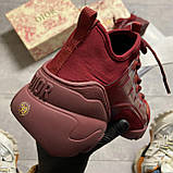 🔥 ВИДЕО ОБЗОР🔥 Christian Dior D-connect Диор Кристиан Д Коннект Красный 🔥 Диор женские кроссовки 🔥, фото 8