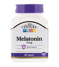 21st Century Melatonin 3 мг 90 таблеток