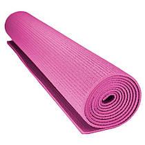 Килимок для йоги та фітнесу Power System PS-4014 FITNESS-YOGA MAT Pink