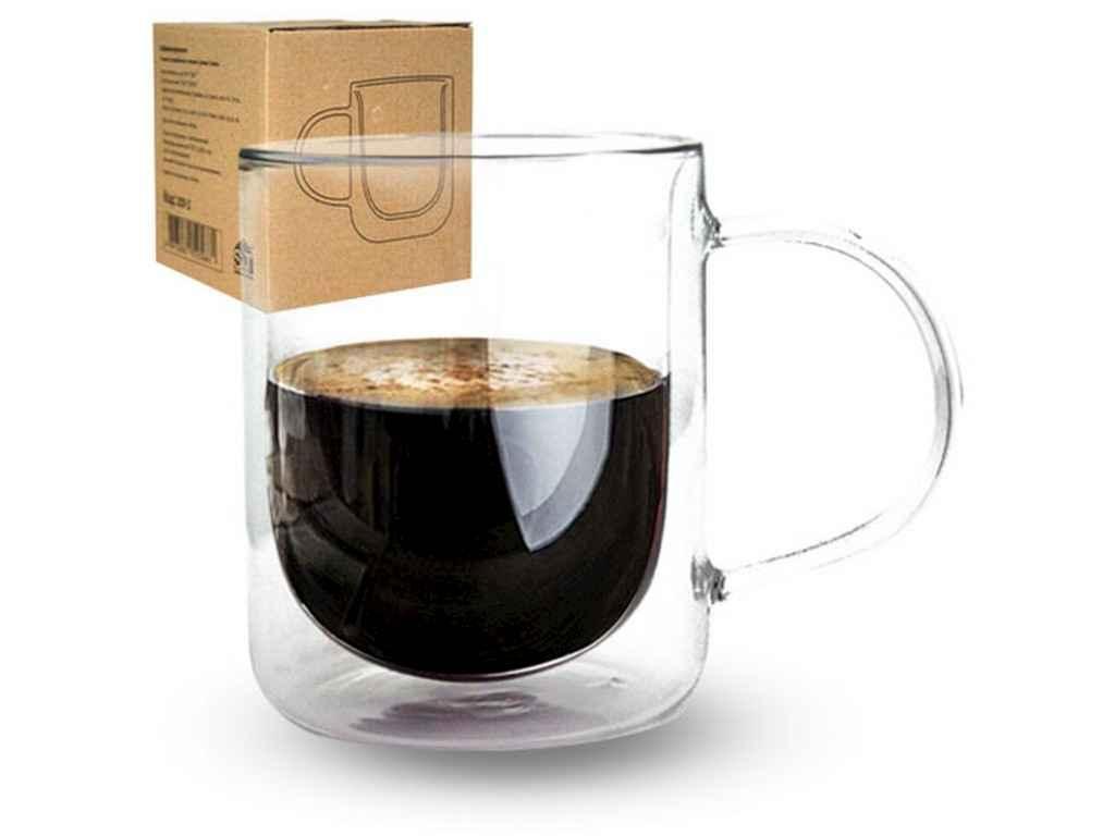 Чашка з подвійною стінкою 300мл Classic 201-2 ТМSNT