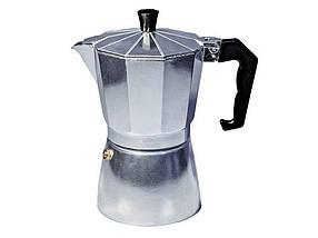 Кофеварка алюминиевая гейзерная Con Brio 300 мл (СВ-6106)