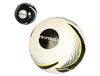 Мяч футбольный размер 5, ПВХ 1,6мм., 300-320гр., в кул. EN 3278 (30)