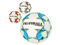 Мяч футбольный размер 5, ПУ 1,4мм., 32 панели, ручная работа, 400-420гр. 2500-131/82 (30)