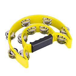 Тамбурин MAXTONE 818C (Yellow)