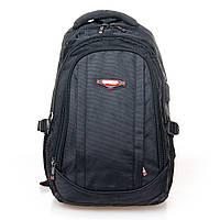 Мужской универсальный рюкзак цвет черный 30*45*20см Power In Eavas (9063 black)