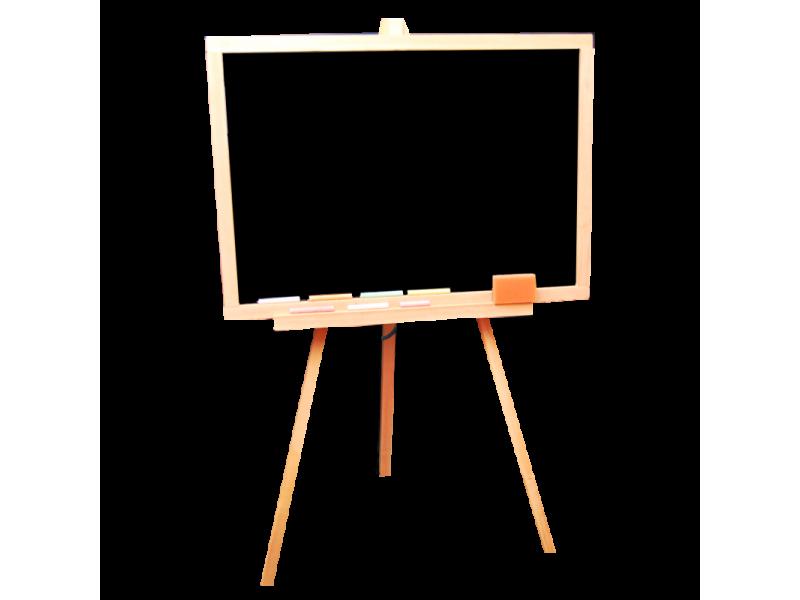 Мольберт   деревянный тренога, двухсторонний   не магнитный Винни Пух