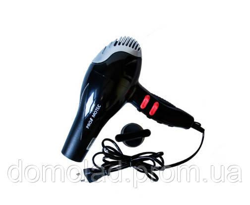 Профессиональный Фен Для Волос Promotec PM-2307 Мощность 3000 Вт