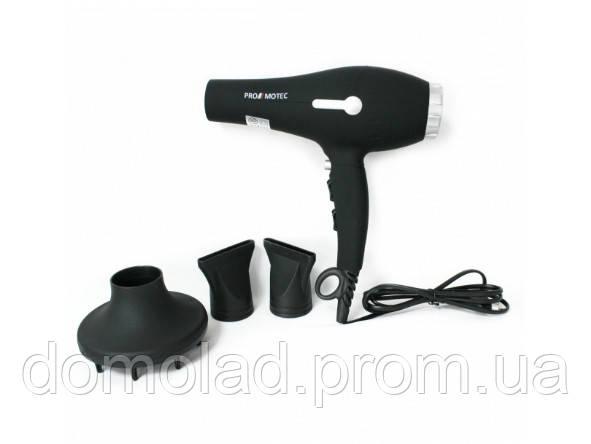 Профессиональный Фен Для Волос Promotec PM-2309 Мощность 3000 Вт
