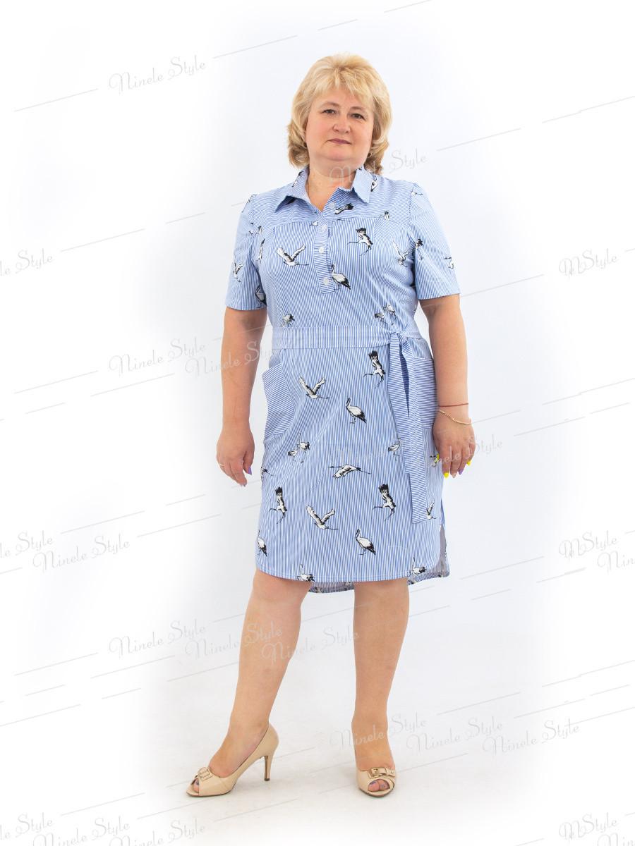 Платье рубашка 478-2 54