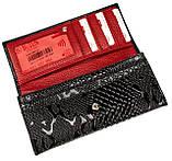 Женский кошелек Butun 567-008-039 кожаный черный, фото 4