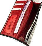 Женский кошелек Butun 567-008-039 кожаный черный, фото 5
