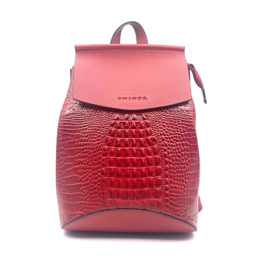 Женский рюкзак Eminsa 40037 из натуральной кожи