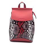 Женский рюкзак Eminsa 40037 из натуральной кожи, фото 5