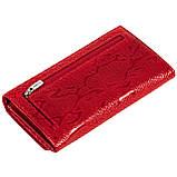 Женский кошелек Karya 1088-019 кожаный красный, фото 2