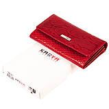 Женский кошелек Karya 1088-019 кожаный красный, фото 6