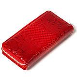 Женский кошелек кожаный красный Karya 1119-019, фото 2