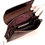 Мужская сумка барсетка кожаная коричневая Karya 0696-57, фото 6