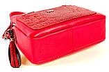 Женская сумка Karya 2134-018 кожаная красная, фото 5