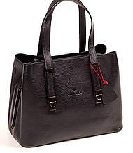 Женская сумка из натуральной кожи Eminsa 40190-37-1 черная