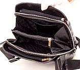 Мужская сумка через плечо BUTUN 434-004-001 из натуральной кожи черная, фото 6