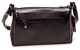 Женская сумка кожаная BUTUN 3104-004-001 кросс-боди черная, фото 2
