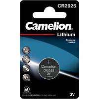 Батарейка CR 2025 Lithium * 1 Camelion (CR2025-BP1)