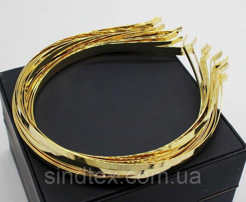 Обруч металевий (5мм) Колір - золото Ціна за 50 шт (сп7нг-4675)
