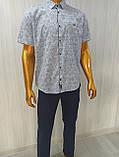 Мужская рубашка Батал Amato. AG.KG 29839-v06. Размеры: 2XL,3L,4XL,5XL., фото 3