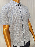 Мужская рубашка Батал Amato. AG.KG 29839-v06. Размеры: 2XL,3L,4XL,5XL., фото 7