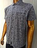 Мужская рубашка Батал Amato. AG.KG 29839-v06. Размеры: 2XL,3L,4XL,5XL., фото 8