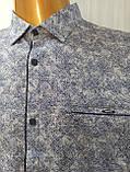 Мужская рубашка Батал Amato. AG.KG 29839-v06. Размеры: 2XL,3L,4XL,5XL., фото 9