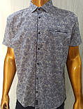 Мужская рубашка Батал Amato. AG.KG 29839-v06. Размеры: 2XL,3L,4XL,5XL., фото 10