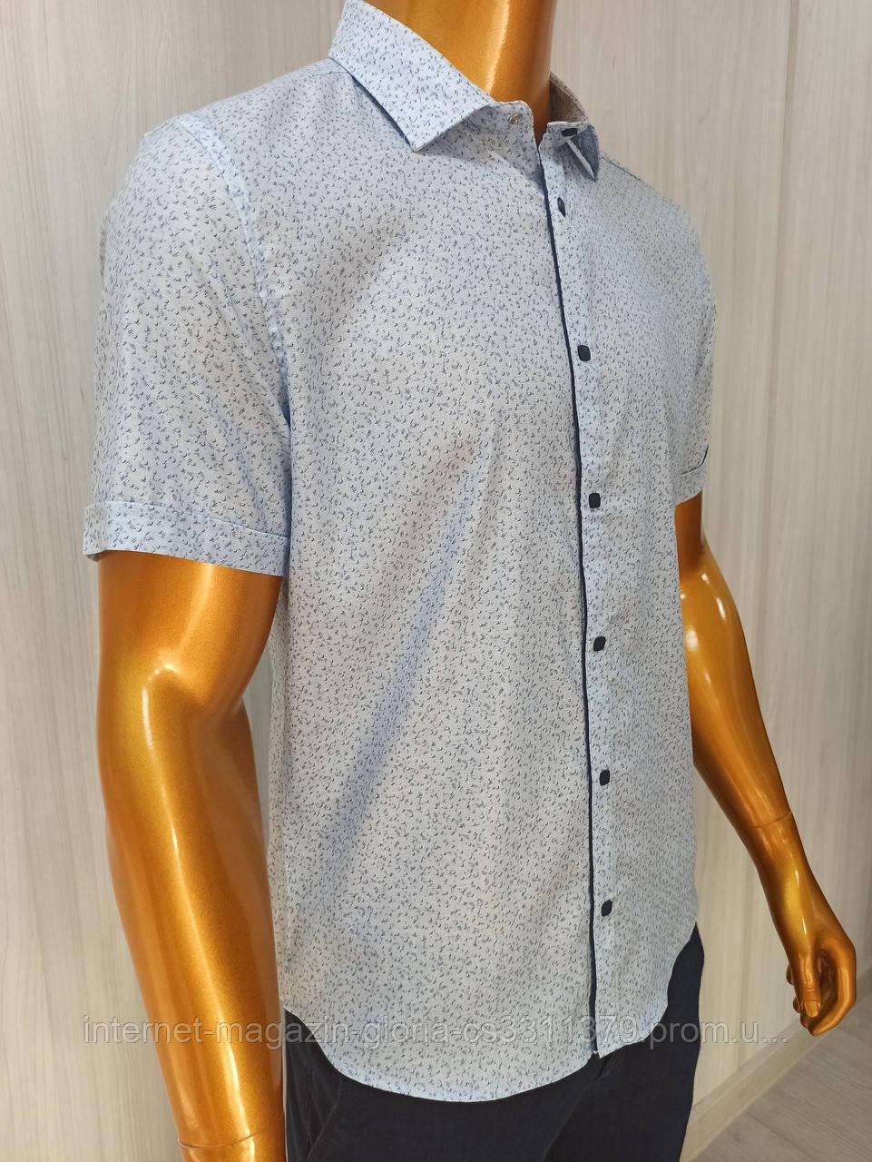 Мужская рубашка Amato. AG.19723-2. Размеры:M,L,XL(2), XXL.