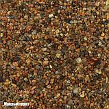 Кварцовий Грунт обкатаний 2-4мм бурштиновий для акваріума, фото 2